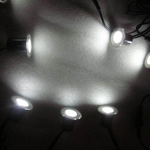 pack 8 mini spots led solaires eclairage led solaire. Black Bedroom Furniture Sets. Home Design Ideas