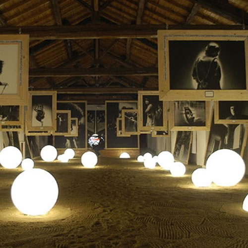 boule lumineuse led patio 35 cm boules lumineuses sans fil. Black Bedroom Furniture Sets. Home Design Ideas