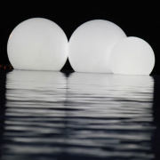 BOULE LUMINEUSE LED PATIO<br>Ø 40 CM