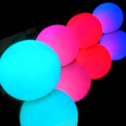 OFFRE SPECIALE 10 BOULES LED RVB