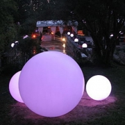 BOULE LUMINEUSE LED PATIO<br>Ø 35 CM