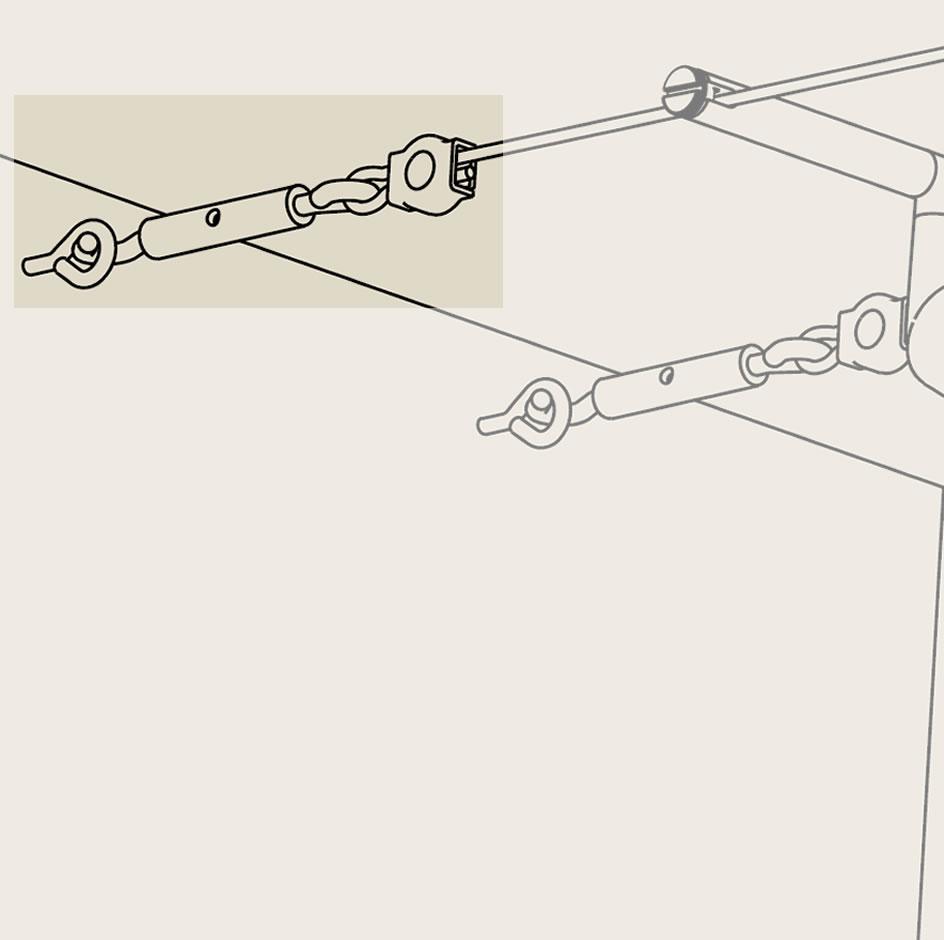 kit de traction tube pour spot led sur c ble spot led sur c bles. Black Bedroom Furniture Sets. Home Design Ideas
