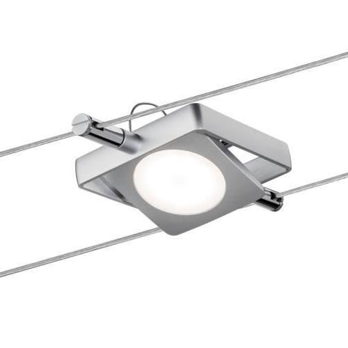 spot led carre mac led spot led sur c bles. Black Bedroom Furniture Sets. Home Design Ideas