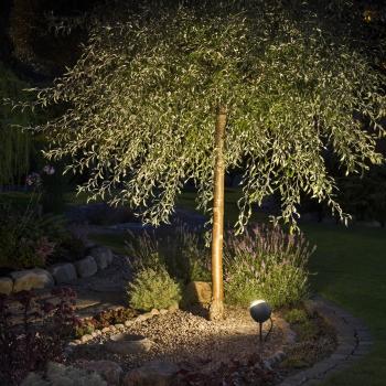 spots led lecce avec piquet eclairage de jardin. Black Bedroom Furniture Sets. Home Design Ideas
