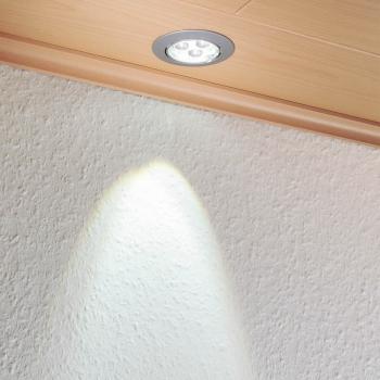 PACK 3 SPOTS LED 3W POUR PLAFOND
