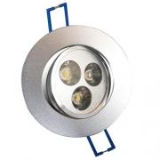 SPOT 3 LED X 3W ENCASTRABLE ET ORIENTABLE