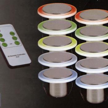spots balisage led rvb saturn spot led pour mur. Black Bedroom Furniture Sets. Home Design Ideas