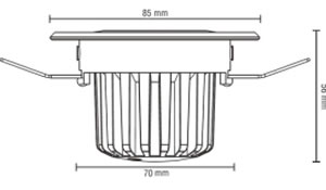 spot led encastrable pour variateur spot led pour plafond. Black Bedroom Furniture Sets. Home Design Ideas