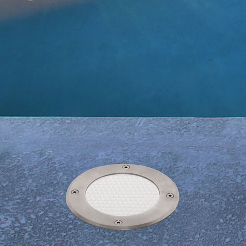 spot led 12v blanc froid pour abords de piscine spot led piscine. Black Bedroom Furniture Sets. Home Design Ideas