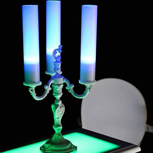 Candélabre luminaire LED